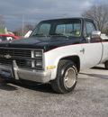 chevrolet c k 10 series 1983 silver black pickup truck c10 silverado gasoline v8 rear wheel drive automatic 45840