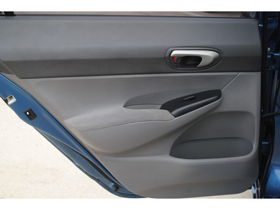 honda civic 2008 blue sedan lx gasoline 4 cylinders front wheel drive automatic 77065