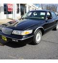 mercury grand marquis 1995 black sedan ls gasoline v8 rear wheel drive automatic with overdrive 07724