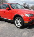 bmw x3 2008 red suv 3 0si gasoline 6 cylinders all whee drive automatic 27616
