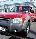 nissan frontier 2003 red xe v6 gasoline 6 cylinders sohc 4 wheel drive automatic 08753