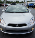 mitsubishi eclipse spyder 2009 silver gs gasoline 4 cylinders front wheel drive automatic 33021