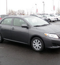 toyota corolla 2009 gray sedan le 4 cylinders automatic 19153