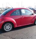 volkswagen beetle 2007 red hatchback gasoline 5 cylinders front wheel drive manual 19153