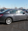 nissan maxima 2009 gray sedan gasoline 6 cylinders front wheel drive automatic 19153