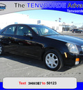 cadillac cts 2003 black sedan gasoline 6 cylinders rear wheel drive 5 speed manual 56301