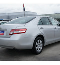 toyota camry 2011 silver sedan gasoline 4 cylinders front wheel drive automatic 77090