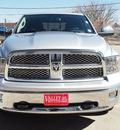ram ram pickup 1500 2012 silver laramie gasoline 8 cylinders 4 wheel drive automatic 80301