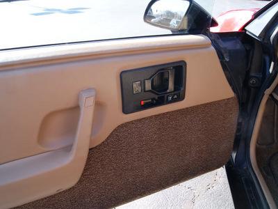 pontiac fiero 1985 red coupe se gasoline v6 rear wheel drive automatic 61008
