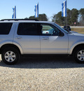 ford explorer 2010 silver suv xlt gasoline 6 cylinders 4 wheel drive automatic 27569