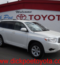 toyota highlander 2010 white suv gasoline 6 cylinders front wheel drive automatic 79925