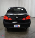 infiniti g37 sedan 2011 black sedan sport gasoline 6 cylinders rear wheel drive automatic 76108