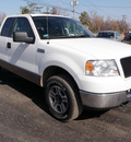 ford f 150 2005 white xlt gasoline 8 cylinders 4 wheel drive automatic 14224