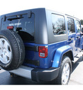 jeep wrangler unlimited 2010 blue suv sahara gasoline 6 cylinders 4 wheel drive automatic with overdrive 07730