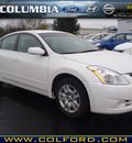 nissan altima 2010 white sedan 2 5 gasoline 4 cylinders front wheel drive automatic 98632