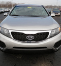 kia sorento 2012 satin metal lx gasoline 4 cylinders front wheel drive automatic 19153