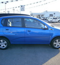 chevrolet aveo5 2009 blue hatchback gasoline 4 cylinders front wheel drive automatic 13502