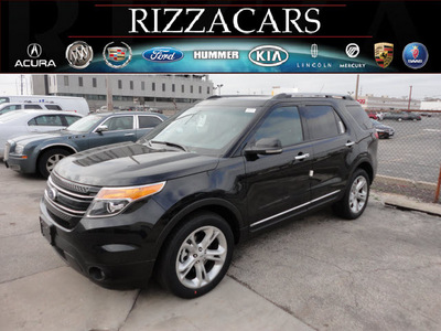 ford explorer 2012 black suv limited 4x4 gasoline 6 cylinders 4 wheel drive automatic with overdrive 60546