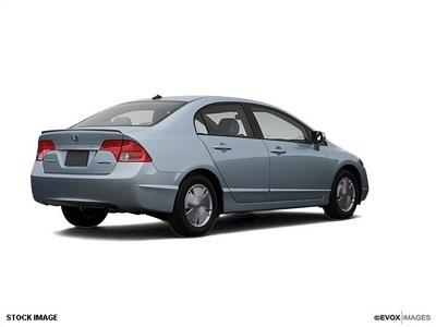 honda civic 2007 sedan hybrid 4 cylinders front wheel drive cont  variable trans  28805