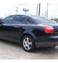 audi a4 2004 dk  blue sedan 1 8t gasoline 4 cylinders front wheel drive automatic 77037