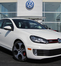 volkswagen gti 2012 white hatchback pzev gasoline 4 cylinders front wheel drive 6 speed automatic 46410