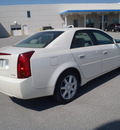 cadillac cts 2005 white sedan gasoline 6 cylinders rear wheel drive automatic 28557