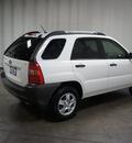 kia sportage 2007 white suv lx gasoline 4 cylinders front wheel drive automatic 76108