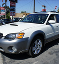 subaru outback 2005 white wagon 2 5 xt limited gasoline 4 cylinders all whee drive automatic 92882