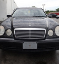 mercedes benz e class 1999 black sedan e430 gasoline v8 rear wheel drive automatic 60411