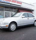 mercedes benz e class 1996 silver sedan e300d diesel 6 cylinders rear wheel drive automatic 60411