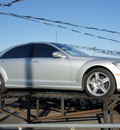 mercedes benz s class 2009 silver sedan s550 4matic gasoline 8 cylinders all whee drive automatic 60411