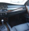 bmw 5 series 2007 black sedan 530xi gasoline 6 cylinders all whee drive 60411