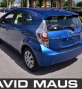 toyota prius 2012 blue hatchback c hybrid 4 cylinders front wheel drive automatic 32771
