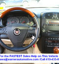 cadillac cts 2004 red sedan gasoline 6 cylinders rear wheel drive automatic 45840