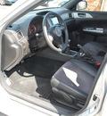 subaru impreza wrx 2008 silver wagon sti gasoline 4 cylinders all whee drive 6 speed manual 94063