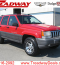 jeep grand cherokee 1998 red suv laredo gasoline 8 cylinders 4 wheel drive automatic with overdrive 45840