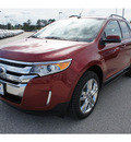 ford edge 2013 red sel gasoline 4 cylinders front wheel drive 6 speed automatic 77388