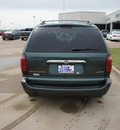 chrysler town and country 2001 green van limited gasoline 6 cylinders front wheel drive automatic 76108