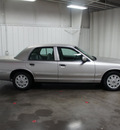 mercury grand marquis 2004 silver sedan gs gasoline 8 cylinders rear wheel drive automatic with overdrive 76108