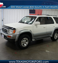toyota 4runner 1996 white suv limited gasoline 6 cylinders 4 wheel drive automatic with overdrive 76108