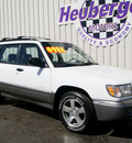 subaru forester 2000 aspen white suv s gasoline 4 cylinders all whee drive automatic 80905