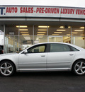 audi a8 2009 silver sedan l quattro gasoline 8 cylinders all whee drive automatic 60411