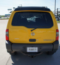 nissan xterra 2003 yellow suv se gasoline 6 cylinders sohc 4 wheel drive automatic with overdrive 76087