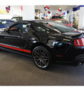 ford shelby gt500 2011 black coupe glass roof gasoline 8 cylinders rear wheel drive 6 speed manual 07724