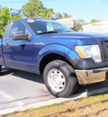 ford f 150 2011 dk  blue xl flex fuel 6 cylinders 2 wheel drive automatic with overdrive 32401
