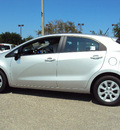 kia rio 2012 silver hatchback lx gasoline 4 cylinders front wheel drive automatic 32901