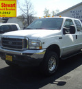 ford f 250 super duty 2002 white xlt gasoline 8 cylinders 4 wheel drive automatic 43560