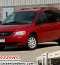 chrysler town country 2003 red van lx gasoline 6 cylinders front wheel drive automatic 62034