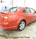 ford fusion 2011 red sedan sport gasoline 6 cylinders front wheel drive automatic 14304