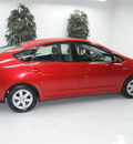 toyota prius 2009 red hatchback touring hybrid 4 cylinders front wheel drive automatic 91731